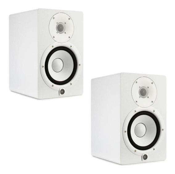 Monitor De Referência Ativo Yamaha Hs7 Branco 95w 110v Par
