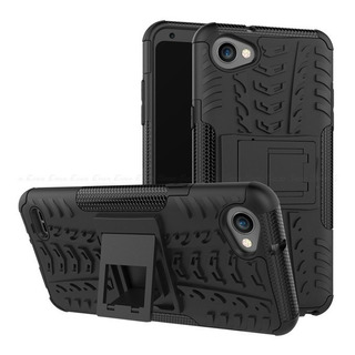 Capa Capinha Anti Impacto LG Q6 Q6+ Plus+1 Pelicula De Vidro