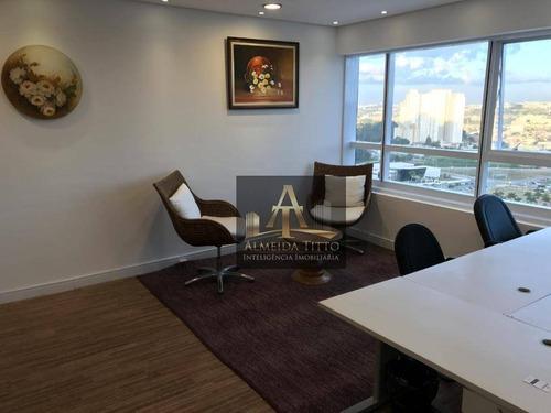 Excelente Sala Á Venda No Condomínio Office Bethaville - Confira ! - Sa0451