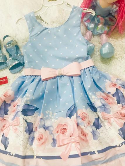 Vestido Infantil Paraiso