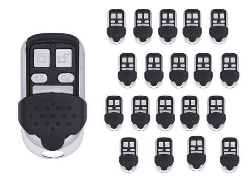 20 Controles Aço Portão Eletrônico 4 Canais Copiador
