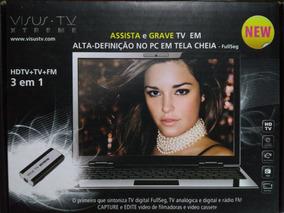 Visus Tv Xtreme - Receptor Tv/rádio/vhs/dvd