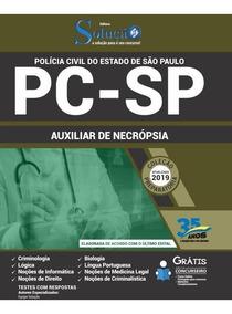 Apostila Concurso Pc Sp 2019 Auxiliar De Necropsia