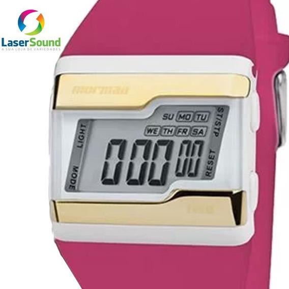 Relógio Mormaii Feminino Fzv/t8q C/ Garantia E Nf