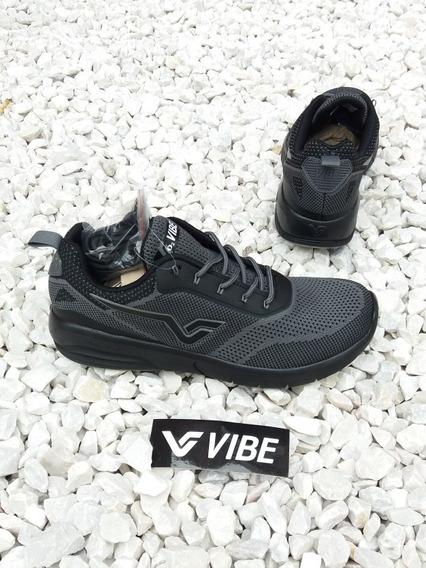 Tênis Vibe Shoes Prolific Sneaker Preto Cinza Pro