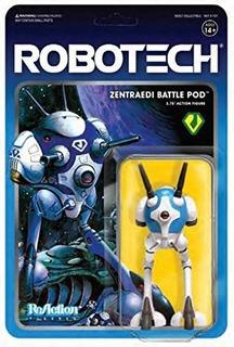 Super7 Robotech Zentraedi Battle Pod 10cm Reaction