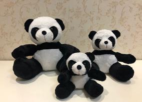 Trio De Urso Panda Decoração Quarto Festa