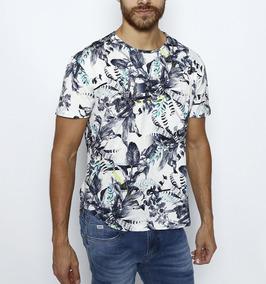 ad559dda72 Camiseta Masculina Estampada Triton Floral Tam M Original