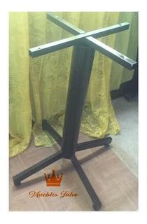 Pedestal Para Mesa Standar Bar Restaurant Cafetería Lounge