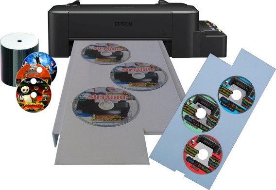 Impressora De Cd/dvd/bluray Epson Tanques De Tinta