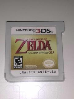 The Legend Of Zelda Ocarina Of Time 3ds 3d