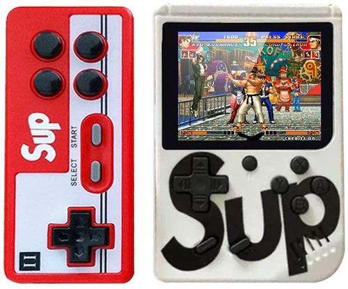 Consola Portatil Juegos Retro Sup Game 400 En 1 Con Joystick