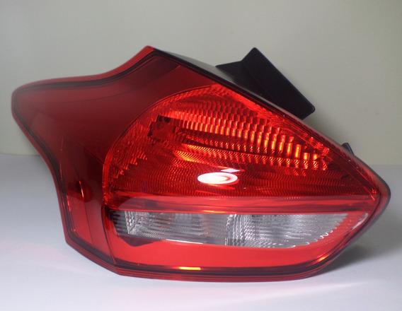 Lanterna Esquerda Novo Focus Hatch 16 17 18 Original Ford