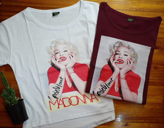Remera Madonna