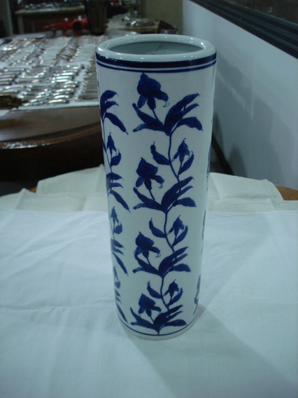 Florero Antiguo Porcelana Oriental Antiguedades El Rodeo