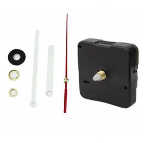 10 X Maquina Quartz 13mm P/relógio De Parede Branco