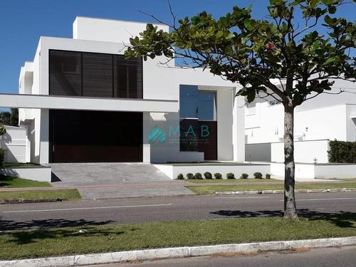 Casa Linda De Alto Padrão À Venda Em Jurerê Internacional - 200 Metros Do Mar - Florianópolis Sc! - Ca00287 - 69015365