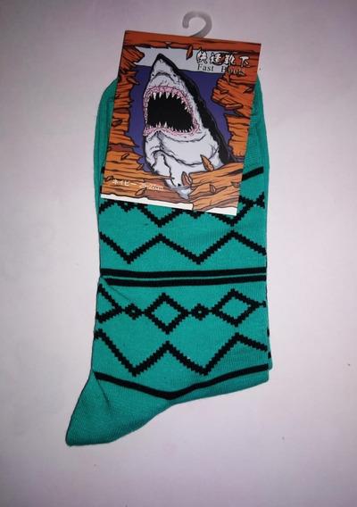 Calcetines Unisex Marca Tiburón Muchos Modelos %100 Algodón