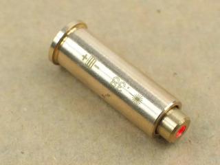 Cápsula Colimador .38 .357 Laser Regulador De Mira 38 357