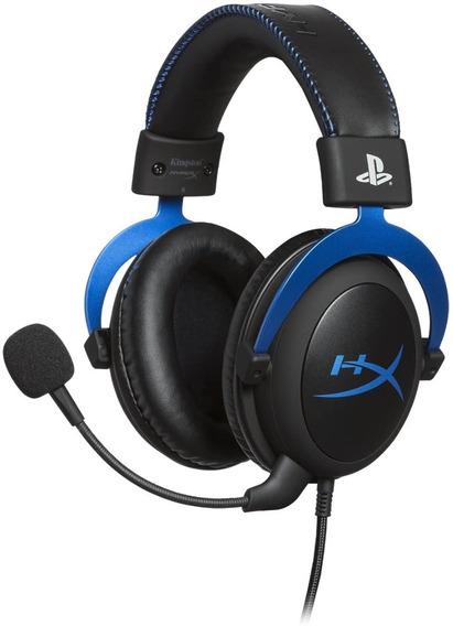 Headset Gamer Cloud Blue Ps4 - Hx-hscls-bl