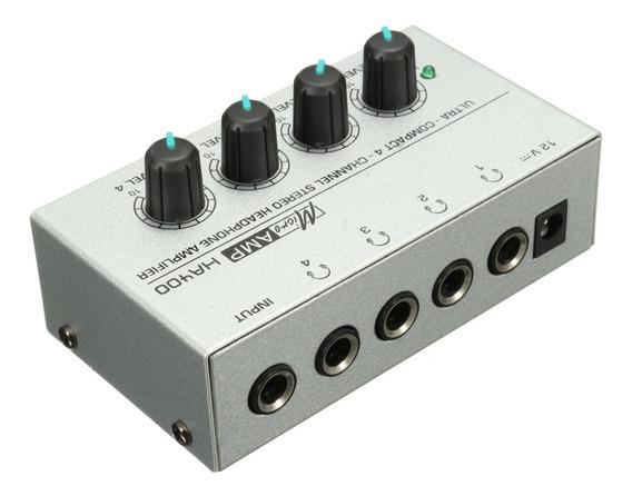 Ha400 4 Canais Mini Audio Amplificador Fone Ouvido
