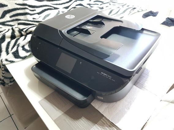 Impressora Hp Envy 7640 Multifuncional Wi-fi Nfc Usb