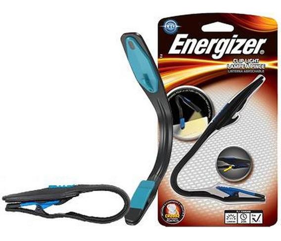 Linterna Con Clip Luz De Lectura Energizer Led Booklight