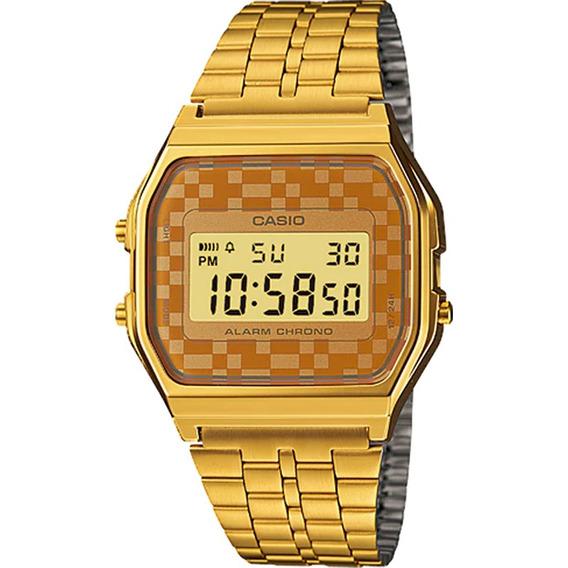 Relógio Casio Vintage Feminino A159wgea-9adf