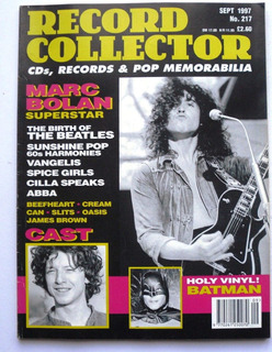 Marc Bolan Abba Quarrymen Revista Record Collector Uk 1997