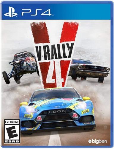 V Rally 4 Ps4 Fisico Sellado Envios Gratis Jazz Pc