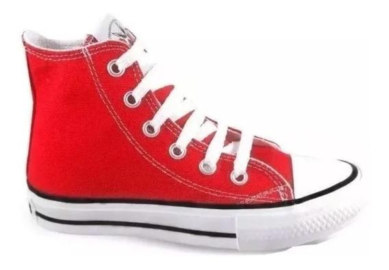 Botitas Zapatillas De Lona Mujer Colores Roller 34 Al 40