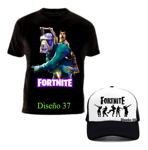 Camiseta Fortnite Battle Royale + Gorra Promo Exclusiva !