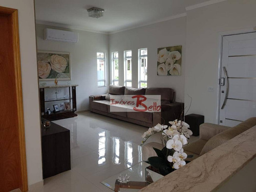 Casa À Venda, 186 M² Por R$ 1.060.000,00 - Condomínio Itatiba Country Club - Itatiba/sp - Ca0667