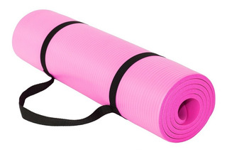 Mat 15 Mm Yoga Pilates + Correas Extra Resistente Calidad