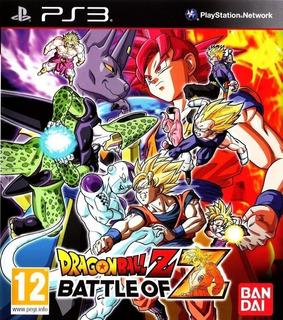 Dragon Ball Z Battle Of Z ~ Ps3 Digital Español