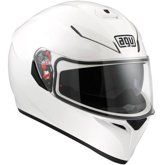 Casco Agv K3 Sv White Oficiales Entrega Ya Moto Delta Tigre