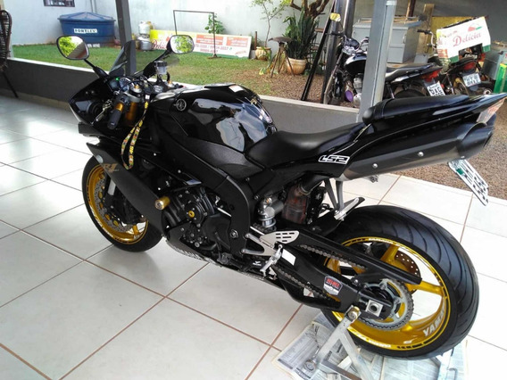 Yamaha R1 2008 Muito Nova Troca Por Bmw Gs 1200