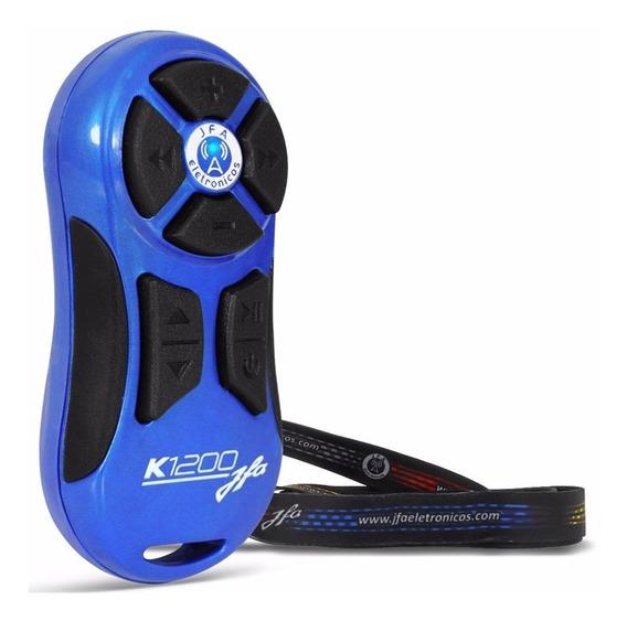 Controle Longa Distancia Jfa K1200 Azul Avulso 1200 Metros