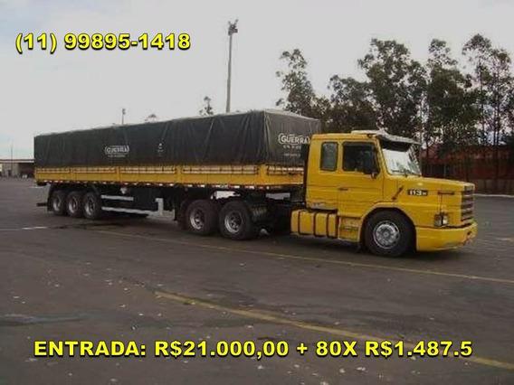 Scania 113 360 1998 Carreta Guerra 6x2