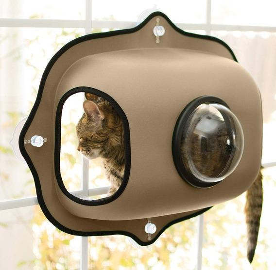 Soporte De Ventana Con Ventosas, Observatorio Para Gatos