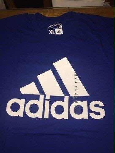 Remera adidas Go To Tee Color : Azul , Xl Importada