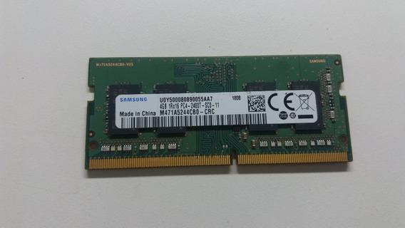 Memória Notebook 4gb Ddr4 - Samsung