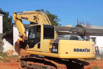 Escavadeira Komatsu Pc 200 Ano 2014