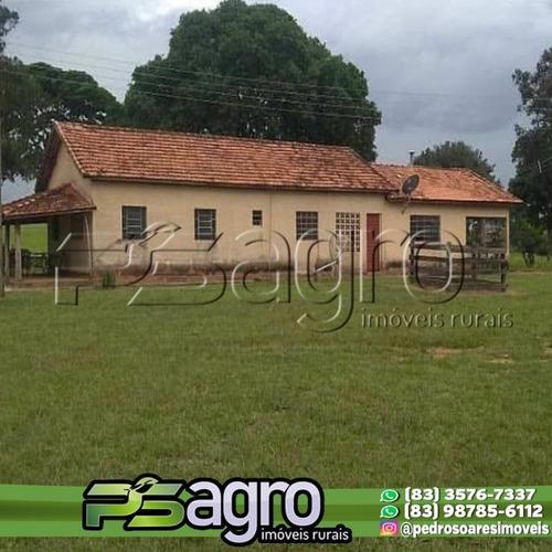 Imagem 1 de 9 de Fazenda À Venda, 6720000 M² Por R$ 15.500.000 - Piaui - Fa0251