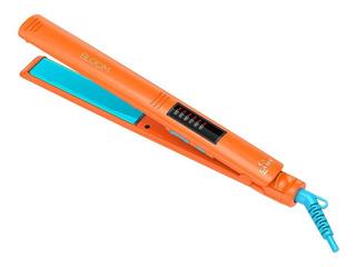 Planchita de pelo GA.MA Italy Elegance Led naranja con placas de turmalina 110V/220V
