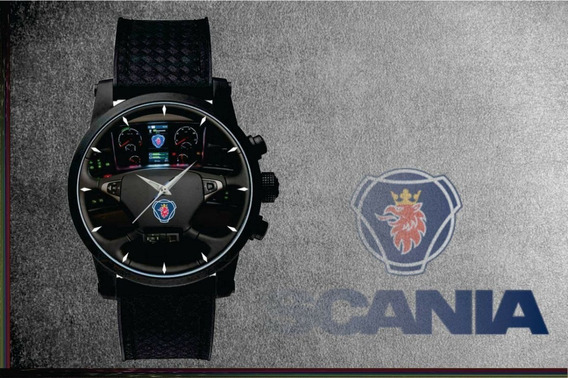 Relógio De Pulso Personalizado Painel Caminhão Cod.carp004