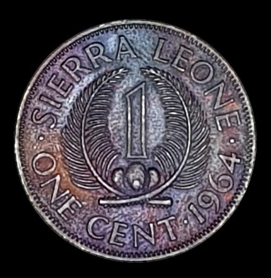 Ch C / Sierra Leona, 1 Cent 1964 Km#17