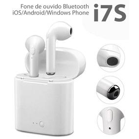 Fones De Ouvido Sem Fio Bluetooth Stereo Par I7s Tws