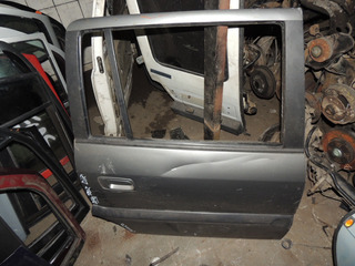 Porta Traseira Direita Gm Zafira 2001 Até 2012 C/detalhe Nf