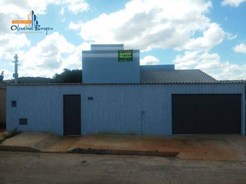 Casa Com 3 Dormitórios À Venda, 110 M² Por R$ 240.000,00 - Residencial Dom Felipe - Anápolis/go - Ca0090